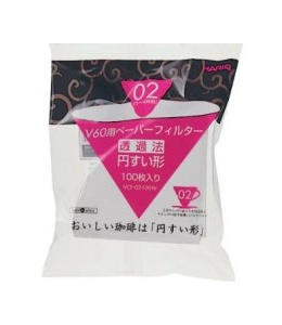 Hario V60 white paper filters 02- 100